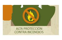 Alta protección contra incendios